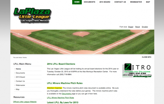 La Plaza Little League