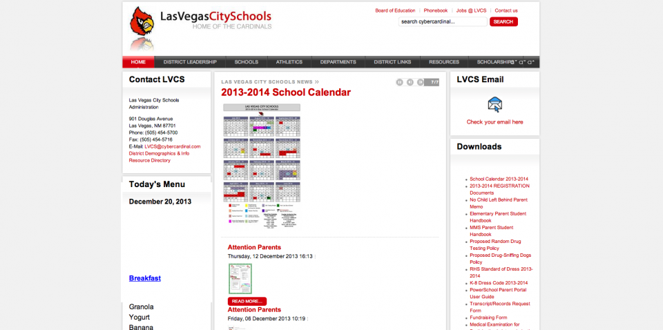 Las Vegas City Schools Zitro Technology Solutions It Consulting Web Design Social Media Marketing